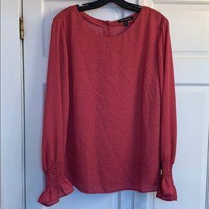 BR long sleeve blouse